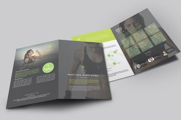 Brochure  One of the InDesign brochure templates that is trending in 2021