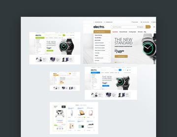 Electro 7.0 Shopify Website