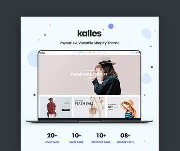 Kalles Shopify Website