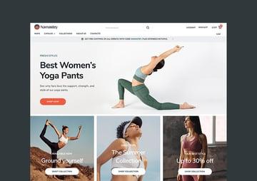 Namastey Responsive Ecommerce Shopify Template