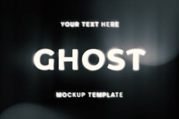 Ghost Photoshop Text Effect Styles