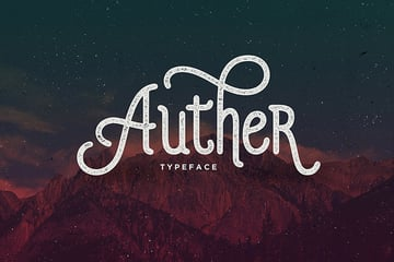 Auther Serif Typeface