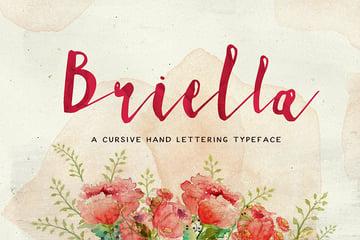 Briella Decorative Script Font