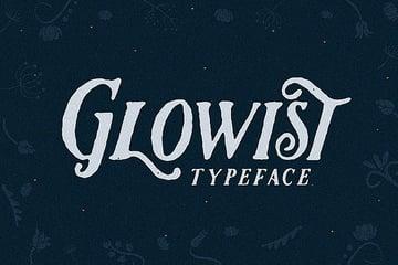 Glowist Bold Serif Fonts