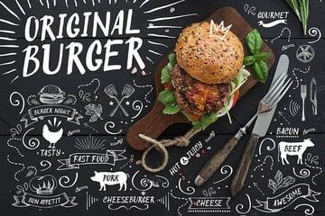 Original Burger Script Font