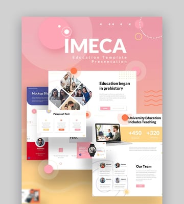Imeca Education PowerPoint Presentation Template