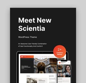 Scientia Best WordPressBook Template