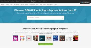 GraphicRiver Home Page