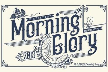 Morning Glory Modern Serif Typography Font Download
