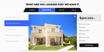 ReEstate Real Estate Template WordPress