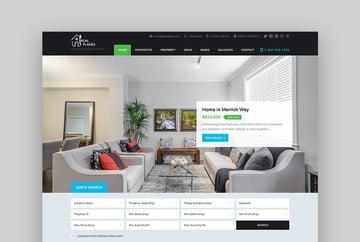 RealPlaces Real Estate WordPress Theme