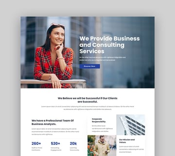 Consultix Consulting Experts WordPress Theme