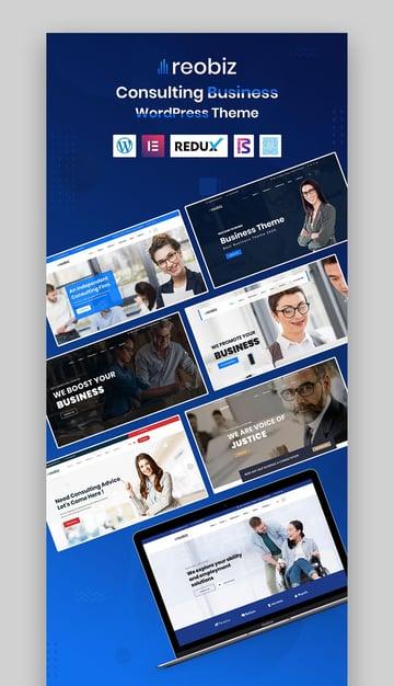 Reobiz Consulting Business WordPress Theme
