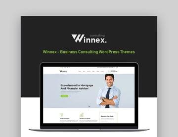 Winnex Best WordPress Themes For Business