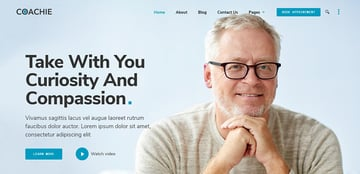 Coachie 20 Consulting Experts WordPress Theme