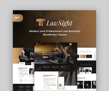 Lawsight Lawyer WordPress Theme