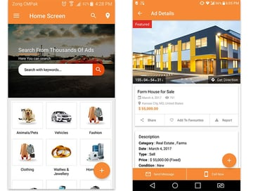 AdForest Classified Ads Android App Template