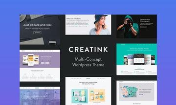 Creatink WordPress video theme