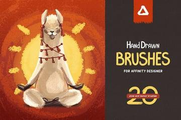 Hand Drawn Affinity Designer Brushes