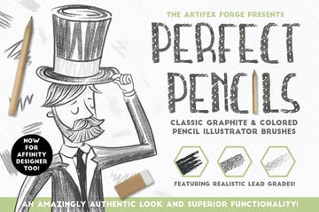Perfect Pencils Brush Pack Affinity Resources