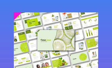 TimeLime Really Cool PowerPoint Template