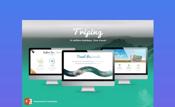 Triping Travel PowerPoint Template