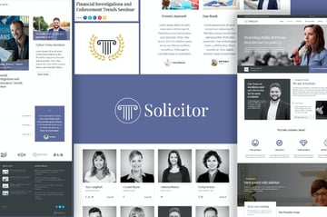 Solicitor Law Firm Website Template