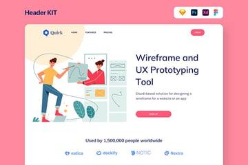 Quirk UX Templates Illustrator