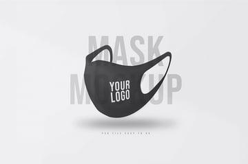 Face Mask Mockup Templates