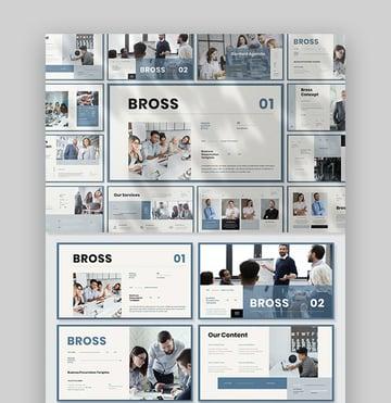 Bross Minimalist PowerPoint Template