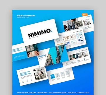 Nimimo Minimalist Slides Template