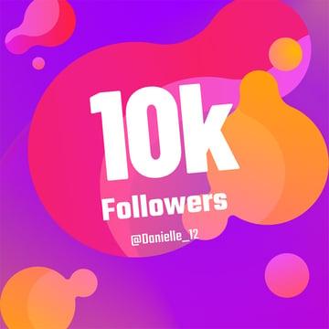 Instagram Post Image Maker Thanking Followers
