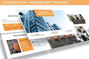 Construction Slide Presentation Design