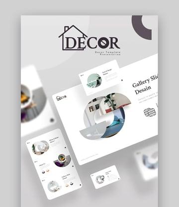 Decor Best Furniture Presentation Slides Design