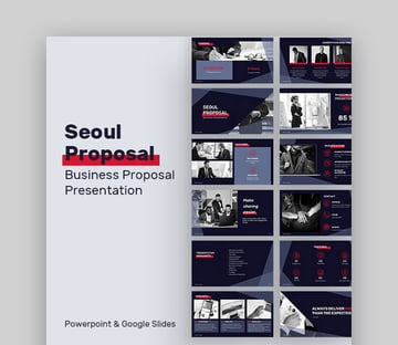 Seoul Modern PowerPoint PPT Slides Designs