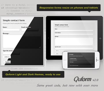 Quform Contact Form HTML PHP
