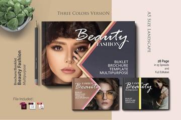 A5 Beauty Pamphlet Design