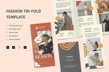 Fashion Adobe InDesign Brochure