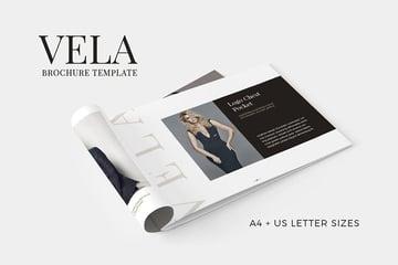 Vela Adobe InDesign Pamphlet
