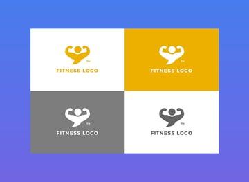 Fitness - Logo Template