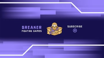 Gaming YouTube Channel Banner Maker