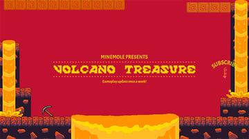 Volcano Treasure Gaming YouTube Banner Creator