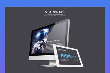 Starcraft Google Slides Roadmap Template