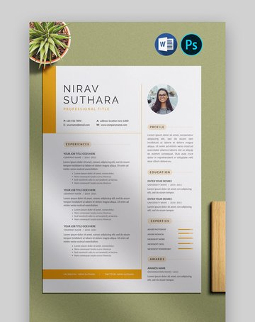 Unique CV Format Download