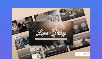 Love Story - Wedding PowerPoint Presentation