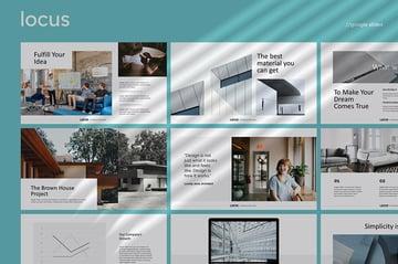 Locus Simple Google Slides Template