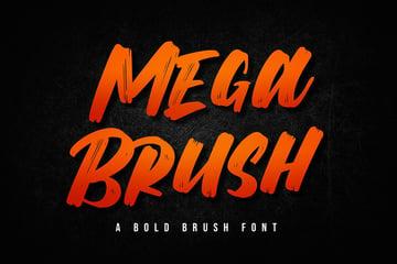 Mega Brush Font Download