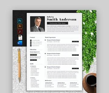 Clean Minimalist Resume Template