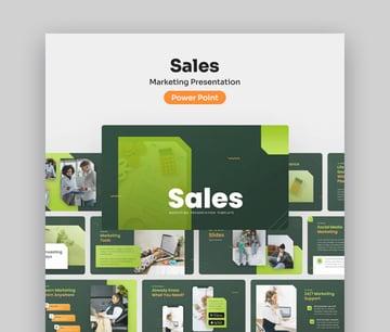 Sales Marketing Product Presentation Template