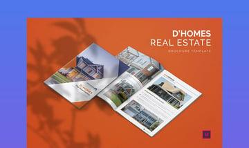 D'Homes Real Estate - Brochure Template